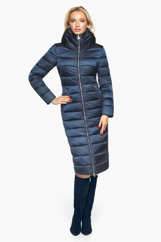 """Сапфірова куртка осінньо-весняна жіноча модель 31074 Braggart """"Angel's Fluff"""" фото 2"""