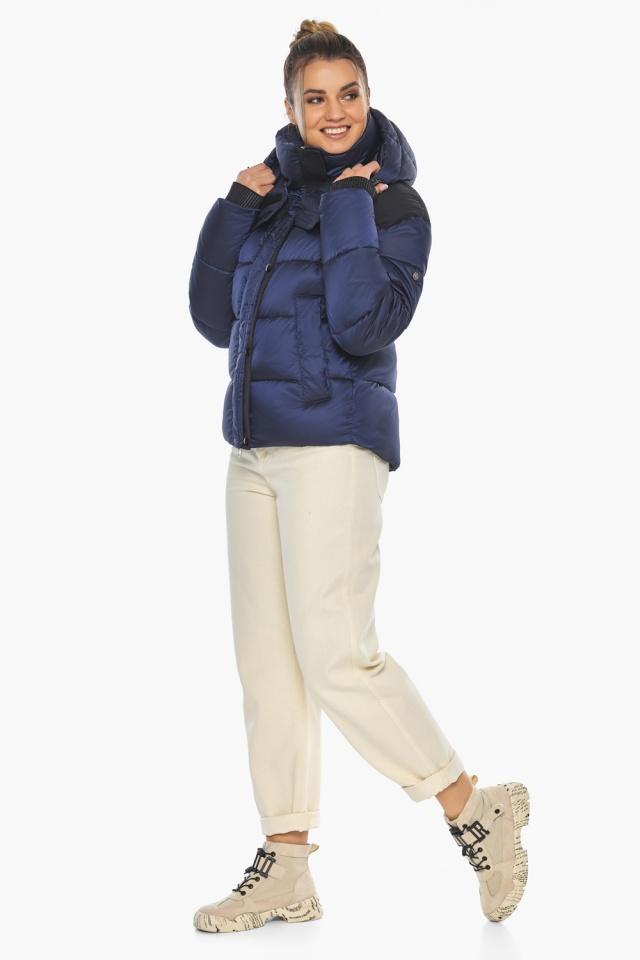 """Сапфировая куртка женская практичная модель 57520 Braggart """"Angel's Fluff"""" фото 6"""