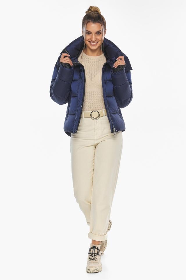 """Сапфировая куртка женская практичная модель 57520 Braggart """"Angel's Fluff"""" фото 3"""