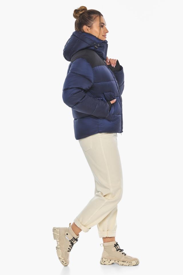 """Сапфировая куртка женская практичная модель 57520 Braggart """"Angel's Fluff"""" фото 7"""