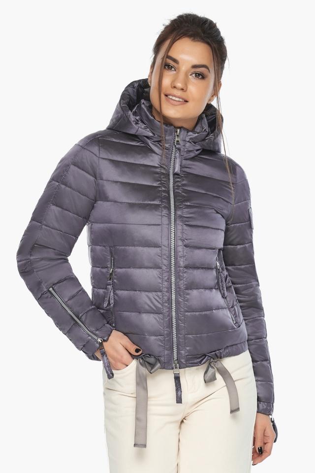 """Куртка лавандовая трендовая женская модель 62574 Braggart """"Angel's Fluff"""" фото 5"""