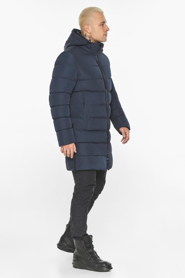 """Графитово-синяя оригинальная мужская куртка на зиму модель 49032 Braggart """"Aggressive"""" фото 7"""
