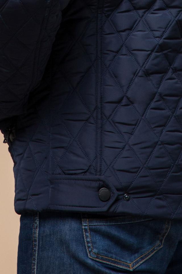 """Мужская зимняя куртка стеганая цвет синий модель 1698 Braggart """"Dress Code"""" фото 8"""