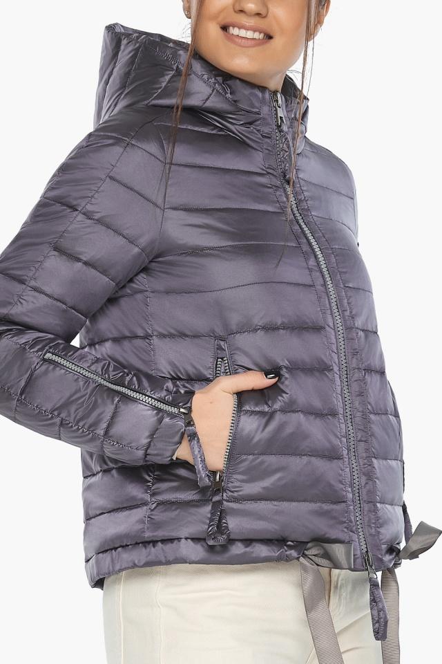"""Куртка лавандовая трендовая женская модель 62574 Braggart """"Angel's Fluff"""" фото 7"""