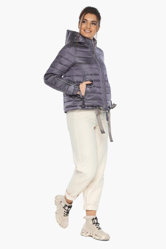 """Куртка лавандовая трендовая женская модель 62574 Braggart """"Angel's Fluff"""" фото 4"""