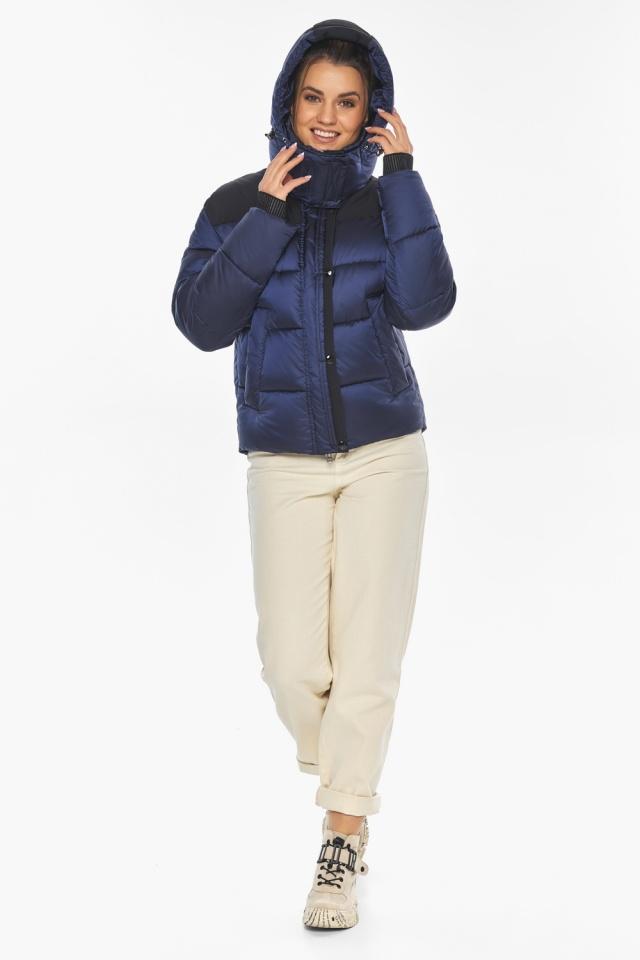 """Сапфировая куртка женская практичная модель 57520 Braggart """"Angel's Fluff"""" фото 2"""