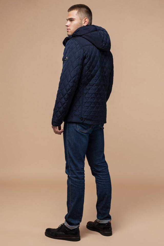 """Мужская зимняя куртка стеганая цвет синий модель 1698 Braggart """"Dress Code"""" фото 5"""