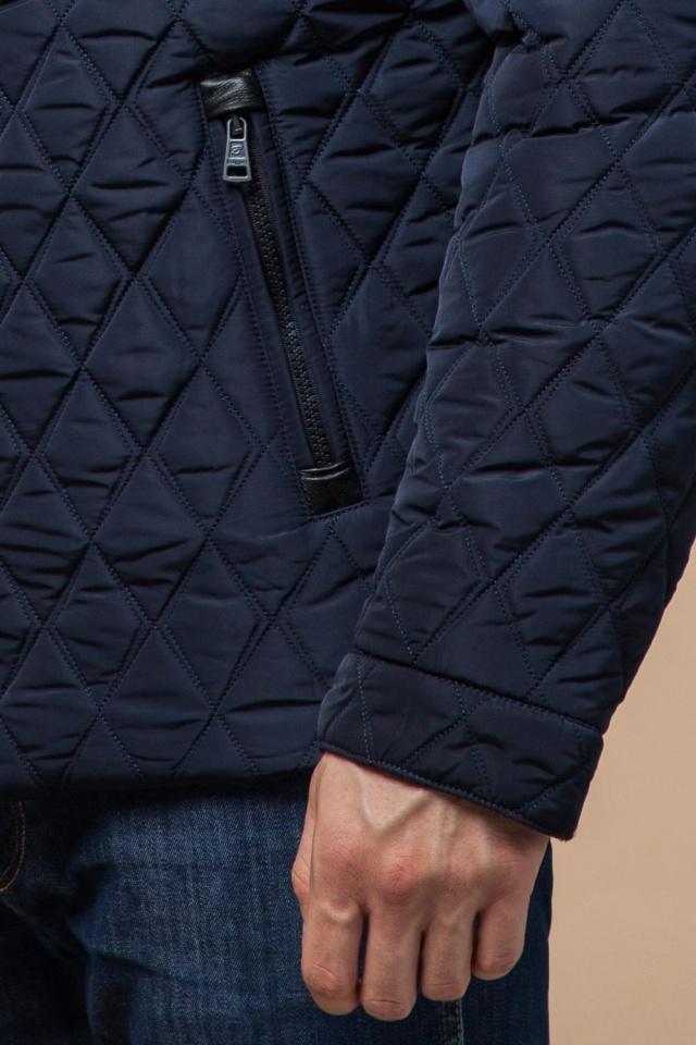 """Мужская зимняя куртка стеганая цвет синий модель 1698 Braggart """"Dress Code"""" фото 7"""