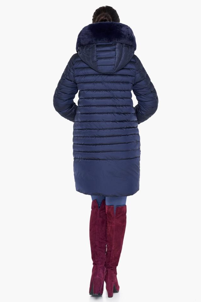 """Куртка трендовая синяя женская модель 31038 Braggart """"Angel's Fluff"""" фото 6"""