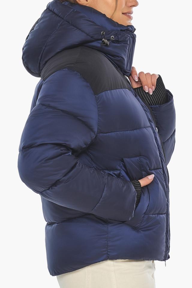 """Сапфировая куртка женская практичная модель 57520 Braggart """"Angel's Fluff"""" фото 9"""