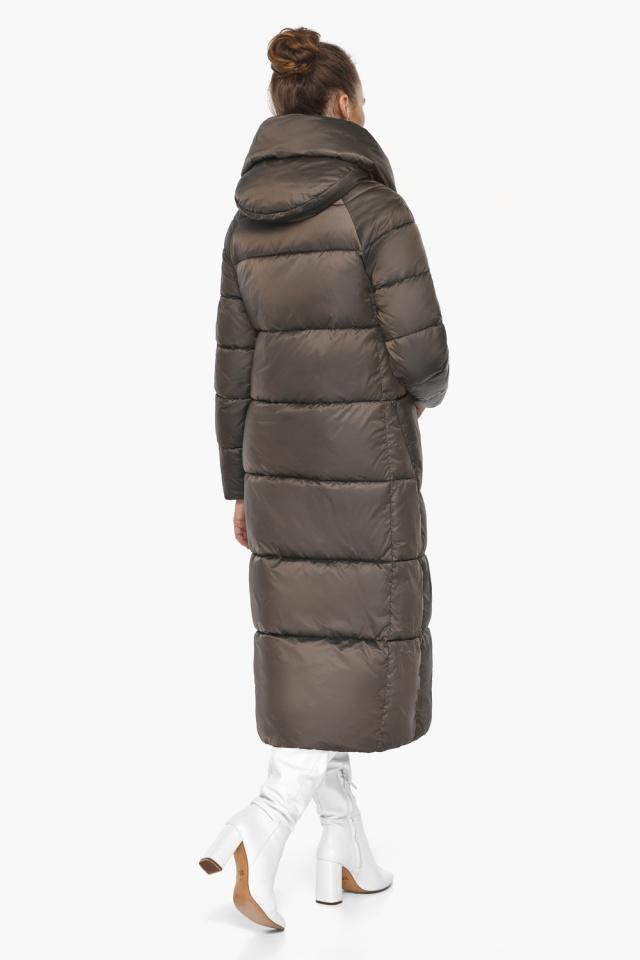 """Куртка женская с капюшоном зимняя цвет капучино модель 46150 Braggart """"Angel's Fluff"""" фото 8"""