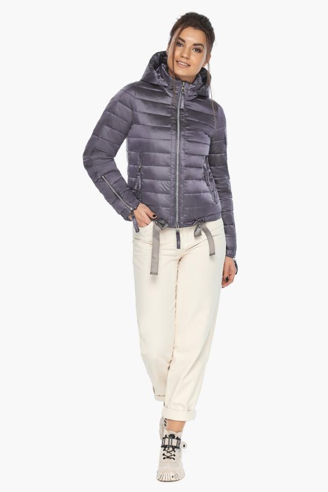 """Куртка лавандовая трендовая женская модель 62574 Braggart """"Angel's Fluff"""" фото 2"""
