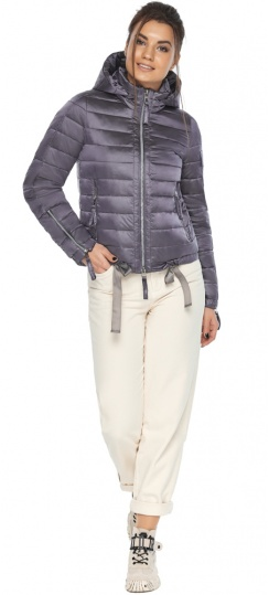 """Куртка лавандовая трендовая женская модель 62574 Braggart """"Angel's Fluff"""" фото 1"""