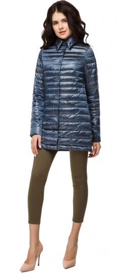 """Женская куртка трендовая цвет темная лазурь модель 41323 Braggart """"Angel's Fluff"""" фото 1"""