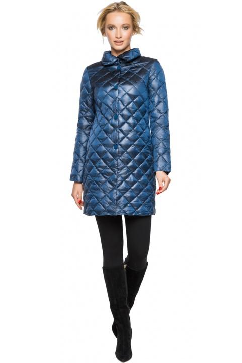 """Куртка жіноча оригінальна осінньо-весняна колір темна блакить модель 20856 Braggart """"Angel's Fluff"""" фото 1"""