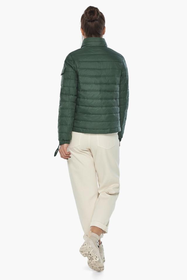 "Брендова куртка жіноча нефритова модель 62574 Braggart ""Angel's Fluff"" фото 6"