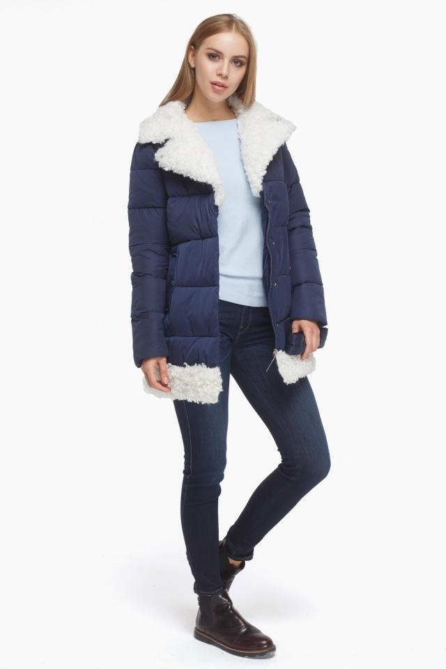 Зимняя куртка женская синяя модель 5153 Tiger Force фото 3