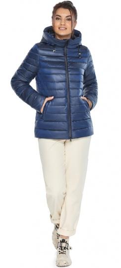 """Куртка стильная женская осенне-весенняя сапфировая модель 68240 Braggart """"Angel's Fluff"""" фото 1"""