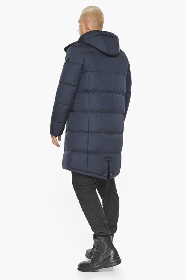 """Куртка мужская зимняя брендовая тёмно-синяя модель 49015 Braggart """"Aggressive"""" фото 8"""