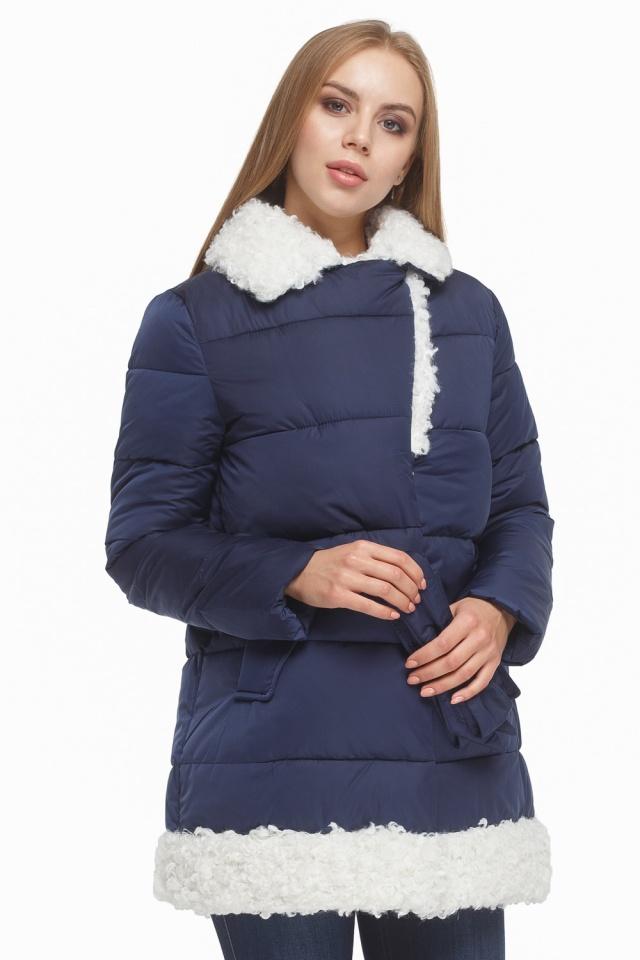 Зимняя куртка женская синяя модель 5153 Tiger Force фото 4