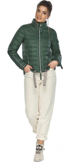 """Брендовая куртка женская нефритовая модель 62574 Braggart """"Angel's Fluff"""" фото 1"""