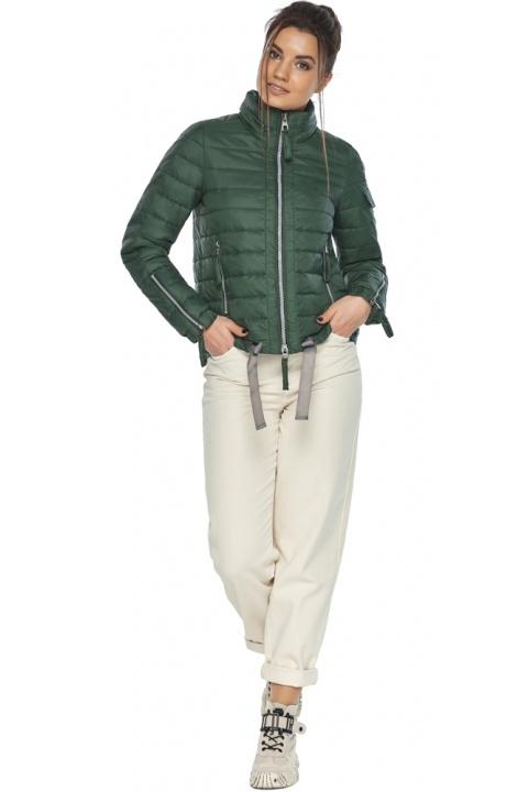 "Брендова куртка жіноча нефритова модель 62574 Braggart ""Angel's Fluff"" фото 1"