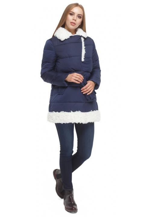 Зимняя куртка женская синяя модель 5153 Tiger Force фото 1