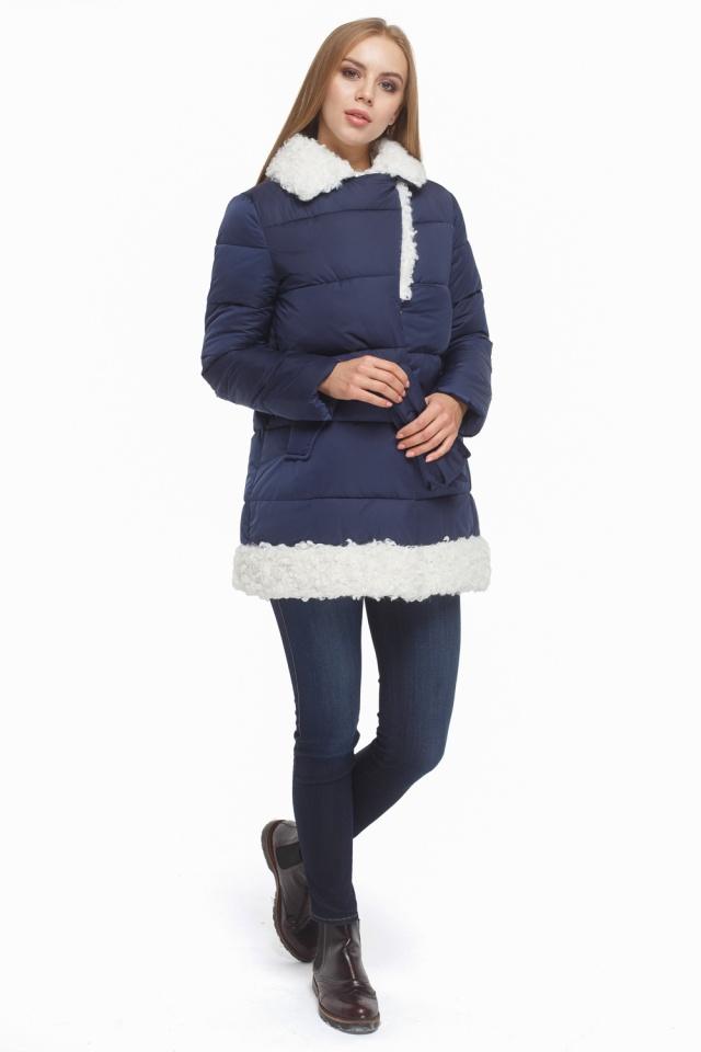 Зимняя куртка женская синяя модель 5153 Tiger Force фото 2