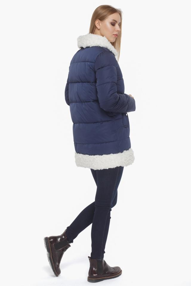 Зимняя куртка женская синяя модель 5153 Tiger Force фото 5