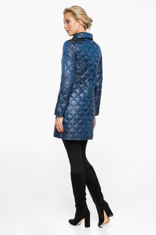 """Куртка жіноча оригінальна осінньо-весняна колір темна блакить модель 20856 Braggart """"Angel's Fluff"""" фото 5"""