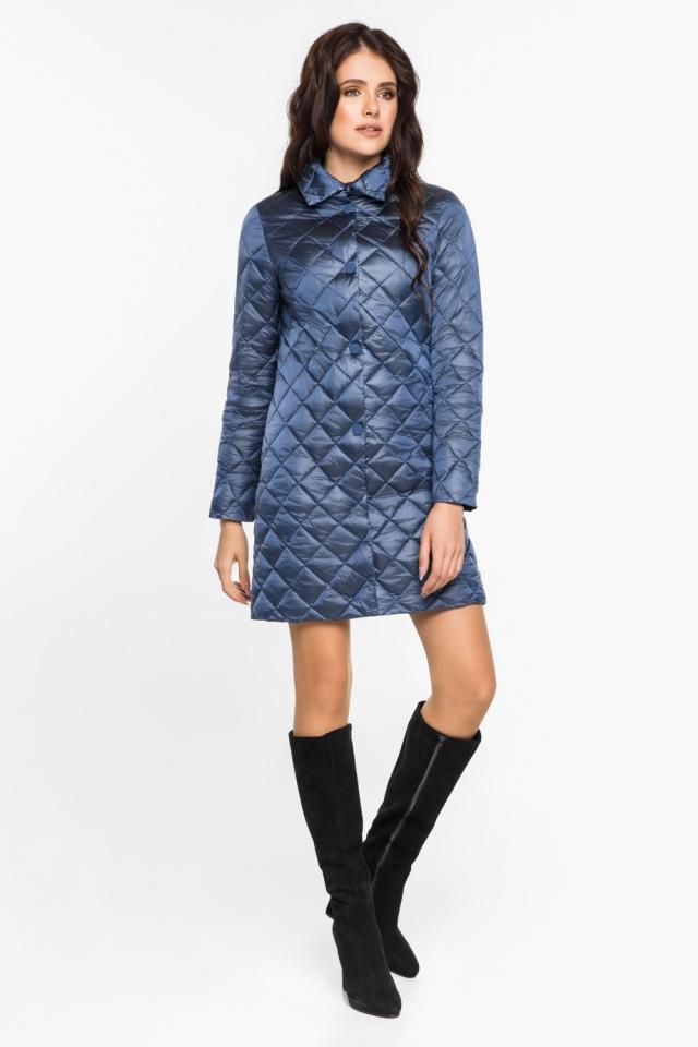 """Куртка женская осенне-весенняя цвет ниагара модель 20856 Braggart """"Angel's Fluff"""" фото 2"""