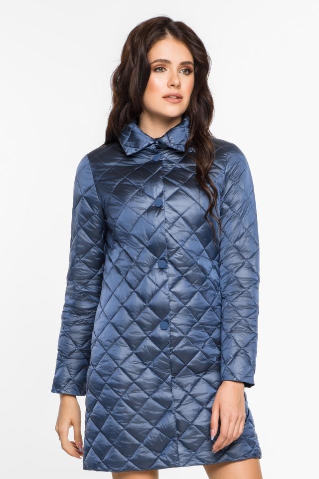 """Куртка женская осенне-весенняя цвет ниагара модель 20856 Braggart """"Angel's Fluff"""" фото 4"""