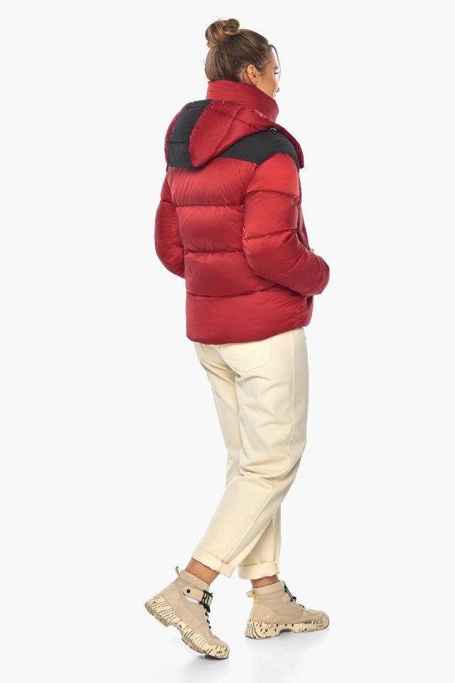 """Рубінова куртка з манжетами жіноча зимова модель 57520 Braggart """"Angel's Fluff"""" фото 7"""