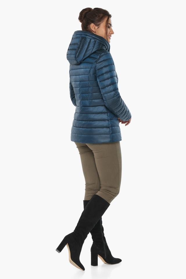 """Куртка женская стильная цвет темная лазурь модель 63045 Braggart """"Angel's Fluff"""" фото 7"""