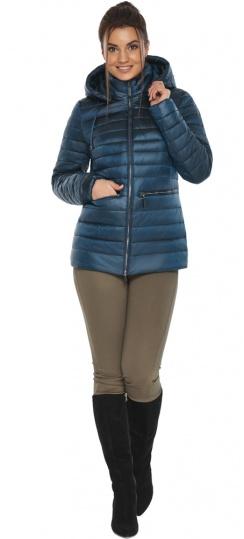 """Куртка женская стильная цвет темная лазурь модель 63045 Braggart """"Angel's Fluff"""" фото 1"""