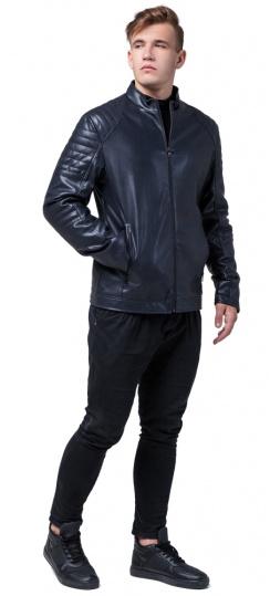"""Темно-синяя куртка практичная подростковая осень модель 4327 Braggart """"Youth"""" фото 1"""