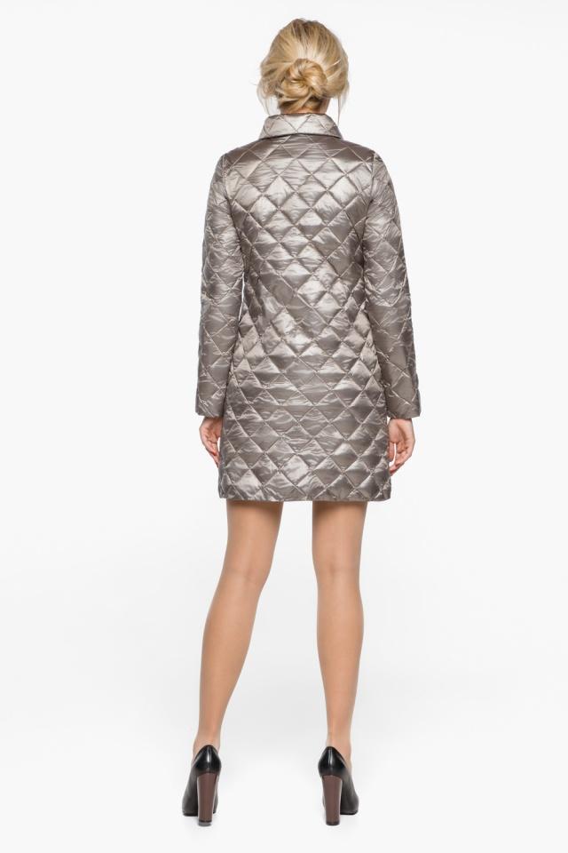 """Куртка женская осенне-весенняя цвет кварцевый модель 20856 Braggart """"Angel's Fluff"""" фото 5"""