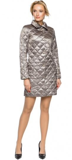 """Куртка жіноча осінньо-весняна колір кварцовий модель 20856 Braggart """"Angel's Fluff"""" фото 1"""