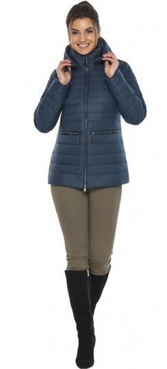 """Брендовая синяя куртка женская модель 63045 Braggart """"Angel's Fluff"""" фото 1"""