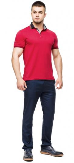Удобная мужская красная футболка поло модель 6285 Braggart фото 1