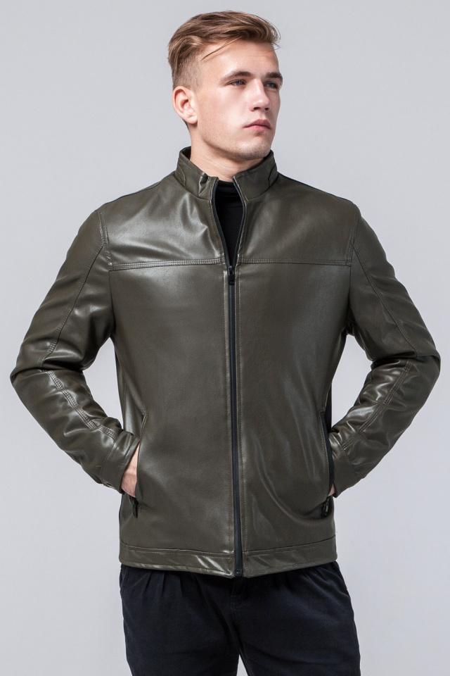"""Осенне-весенняя куртка мужская непромокаемая цвета хаки модель 2825 Braggart """"Youth"""" фото 4"""
