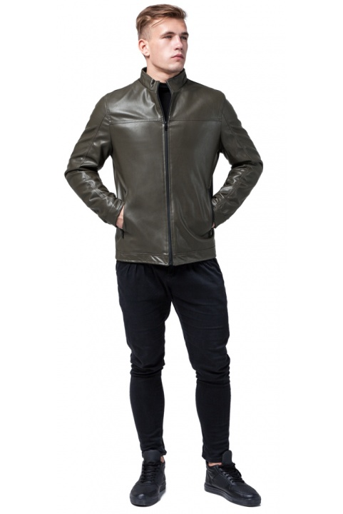 """Осенне-весенняя куртка мужская непромокаемая цвета хаки модель 2825 Braggart """"Youth"""" фото 1"""