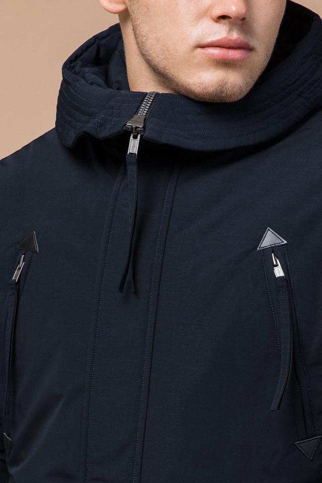 """Мужская зимняя парка темно-синяя модель 23675 Braggart """"Arctic"""" фото 6"""