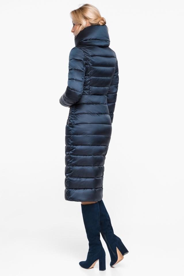 """Сапфировая куртка с карманами женская осенне-весенняя модель 31074 Braggart """"Angel's Fluff"""" фото 6"""
