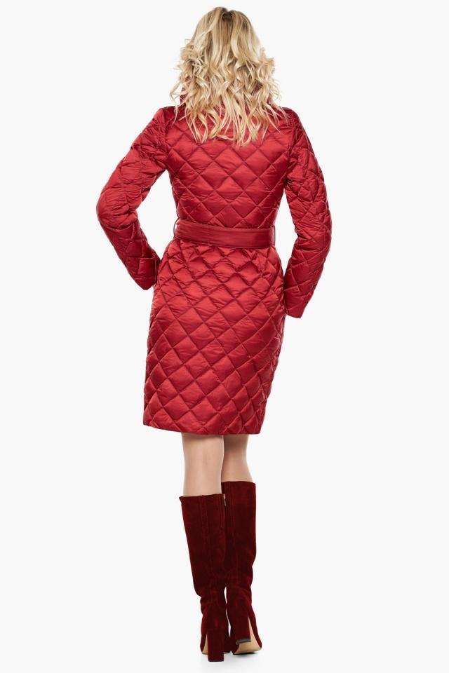 """Женская куртка рубинового цвета фирменная модель 31030 Braggart """"Angel's Fluff"""" фото 6"""