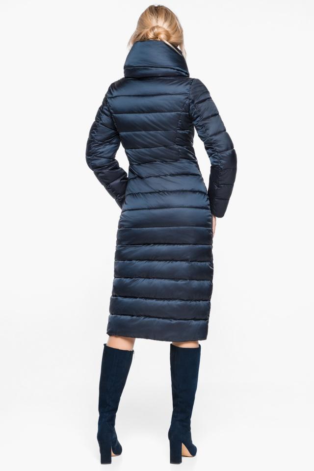 """Сапфировая куртка с карманами женская осенне-весенняя модель 31074 Braggart """"Angel's Fluff"""" фото 7"""