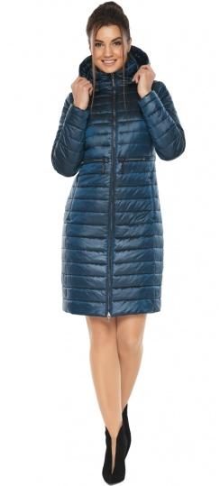 """Практичная куртка женская цвет темная лазурь модель 68410 Braggart """"Angel's Fluff"""" фото 1"""