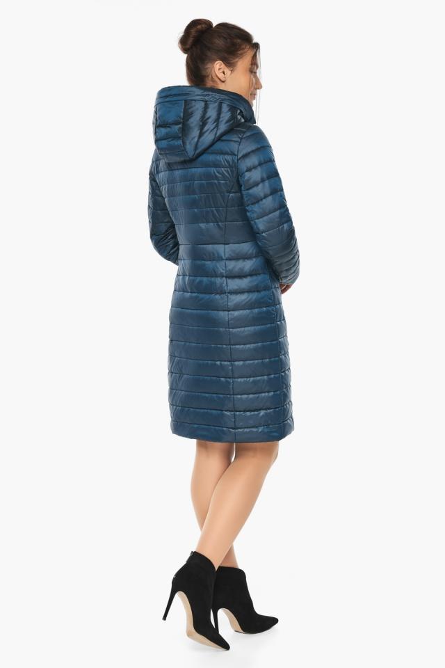 """Практичная куртка женская цвет темная лазурь модель 68410 Braggart """"Angel's Fluff"""" фото 6"""
