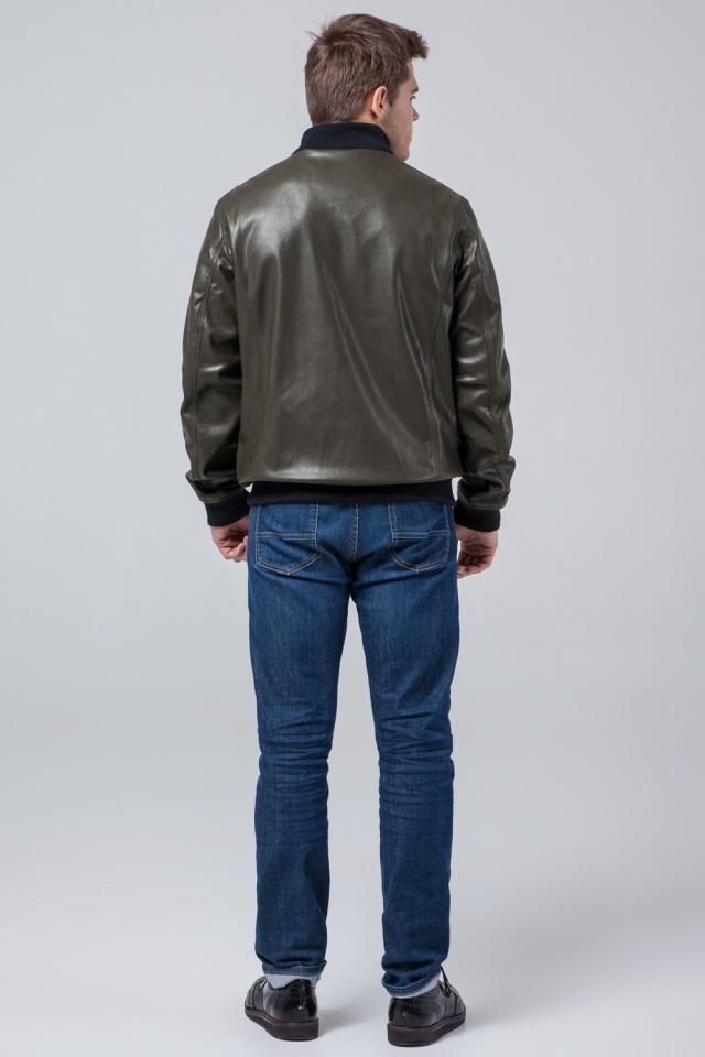 """Осенне-весенняя куртка высокого качества мужская цвета хаки модель 2970 Braggart """"Youth"""" фото 5"""