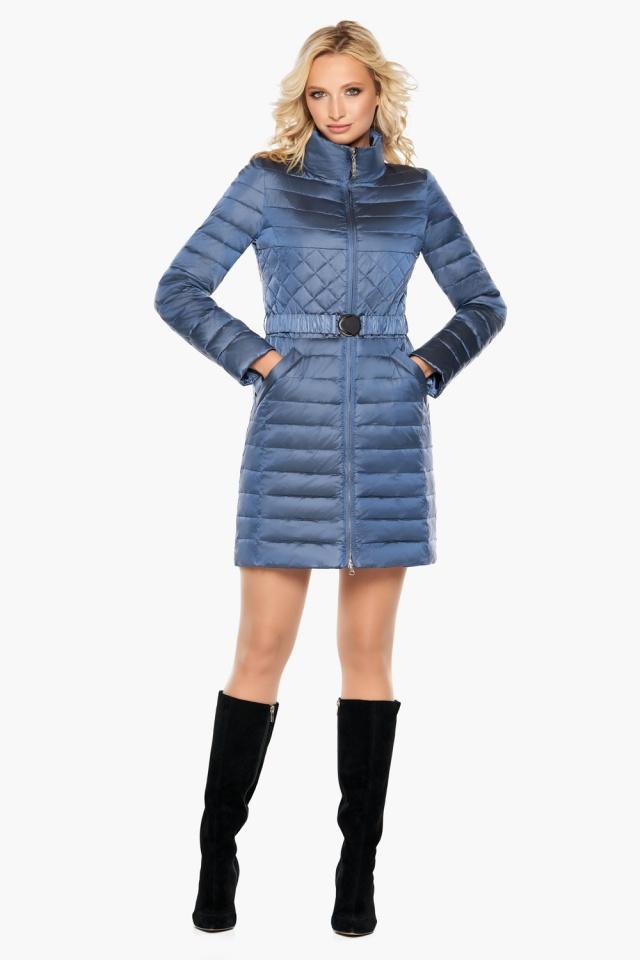 """Осенне-весенняя женская куртка цвет ниагара модель 39002 Braggart """"Angel's Fluff"""" фото 4"""
